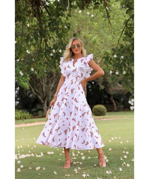 Vestido Tricoline Luzia Fazzolli