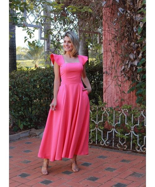 Vestido Crepe Luzia Fazzolli